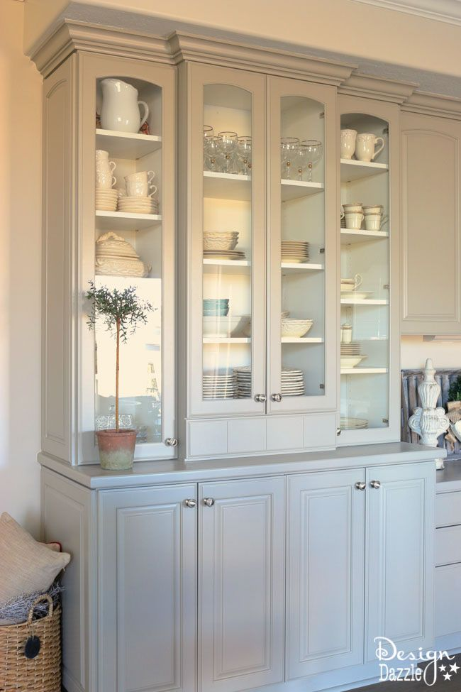 25 best ideas about China cabinet makeovers on Pinterest