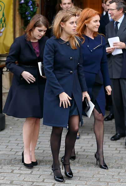 L R Princess Eugenie Princess Beatrice And Sarah