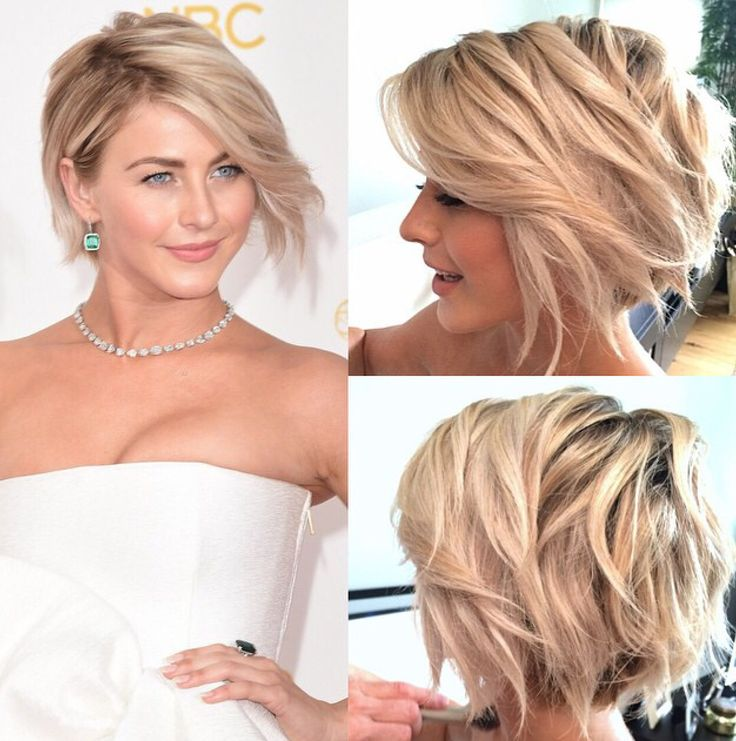Julianne Hough at the Emmys by hairstylist Riawna Capri!
