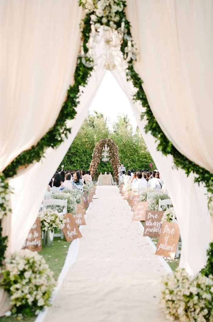 25 Best Ideas About Garden Weddings On Pinterest Garden Wedding