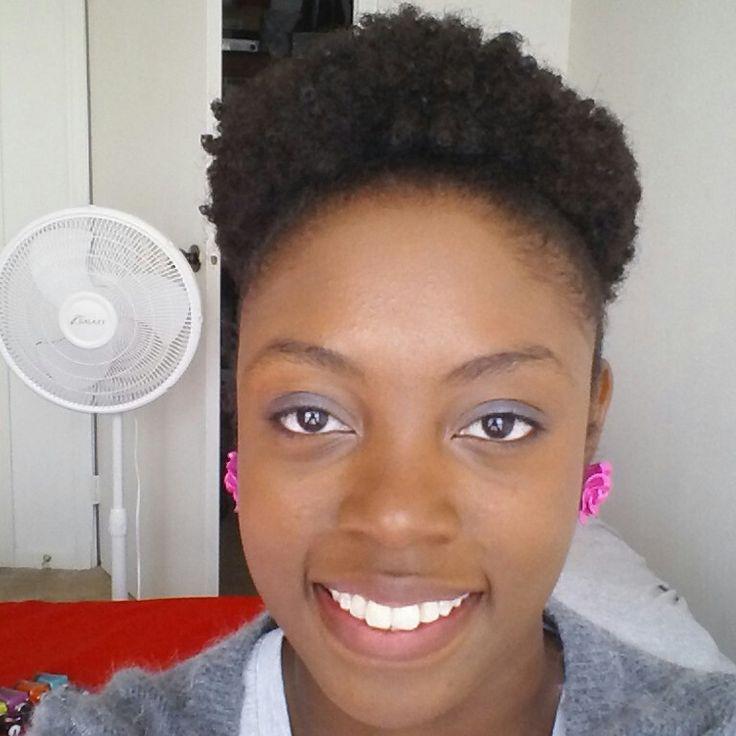 4a 4b 4c Natural Hair Puff Ronisha Parra Conway 4c