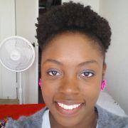 4a 4b 4c natural hair puff ronisha