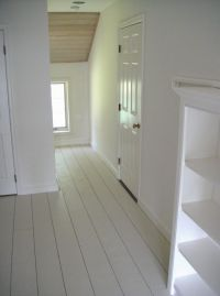 Steal This Look: White-Painted Floors from Frugal ...