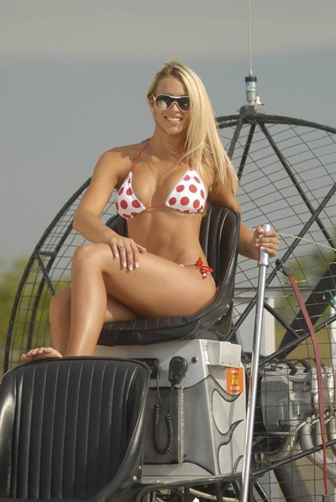 Airboat Girl Airboats Pinterest Girls