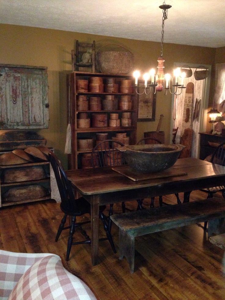 315 Best Images About Primitive And Colonial Dining Rooms