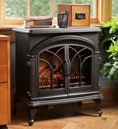 Electric Stove That Looks Like A Fireplace Farm House