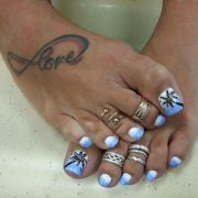1000 ideas beach toe nails