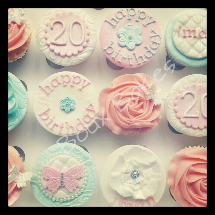 20th birthday cake ideas