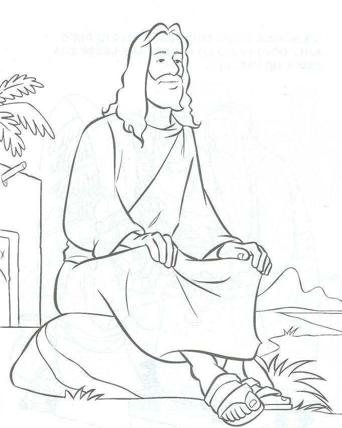 76 best images about Coloring: Bible: NT: Gospels on