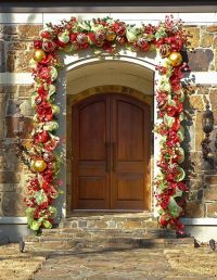 49 Ways To Decorate Front Door For Christmas | christmas ...