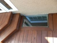 how to build a deck around a basement window - Google ...