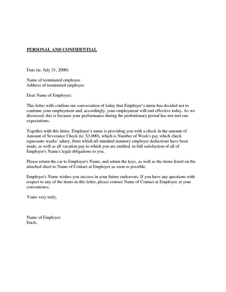 confidential cover letter