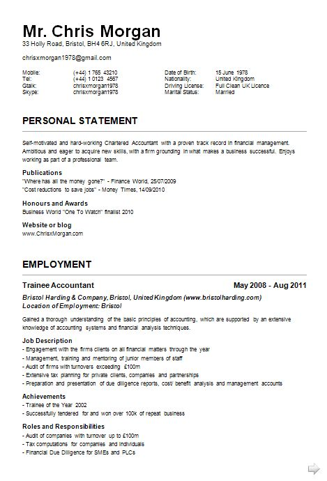 Cv And Resume Sample Cvresume Bilingual Secretary Resume