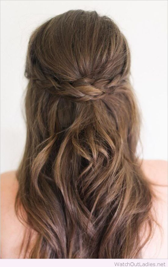 25 Best Ideas About Formal Hairstyles Down On Pinterest