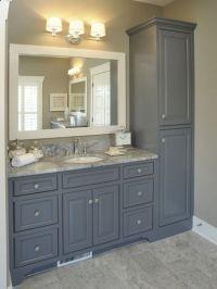 25+ best ideas about Gray vanity on Pinterest | Grey ...