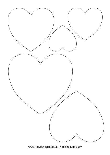 25+ best ideas about Heart template on Pinterest