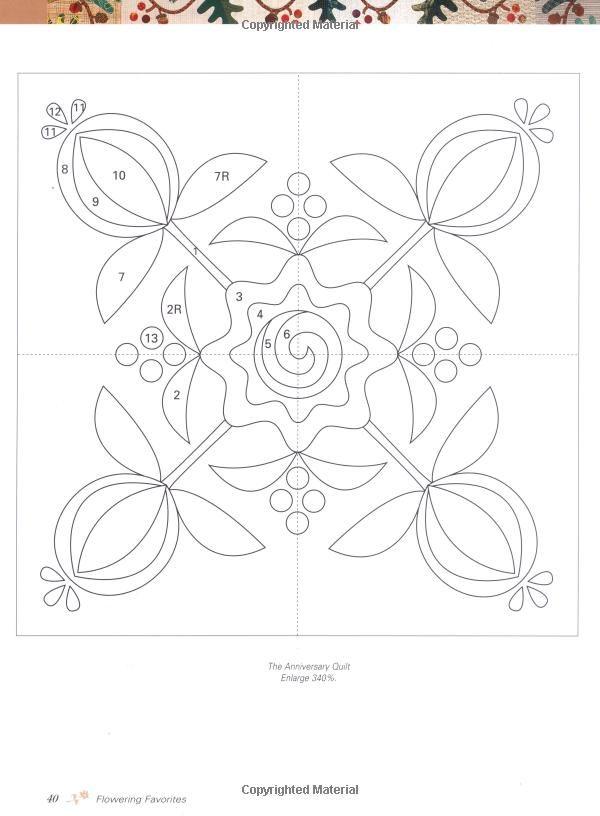 1000+ images about Patchwork, Quilting, Appiqué on Pinterest