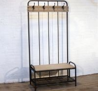 1000+ ideas about Entryway Bench Coat Rack on Pinterest ...