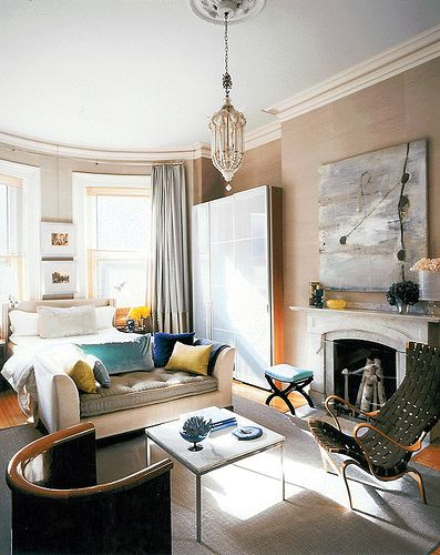 Fabulous studio apartment. Dreamy vintage modern mix, luxe