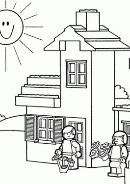 Best 25+ Lego coloring pages ideas on Pinterest