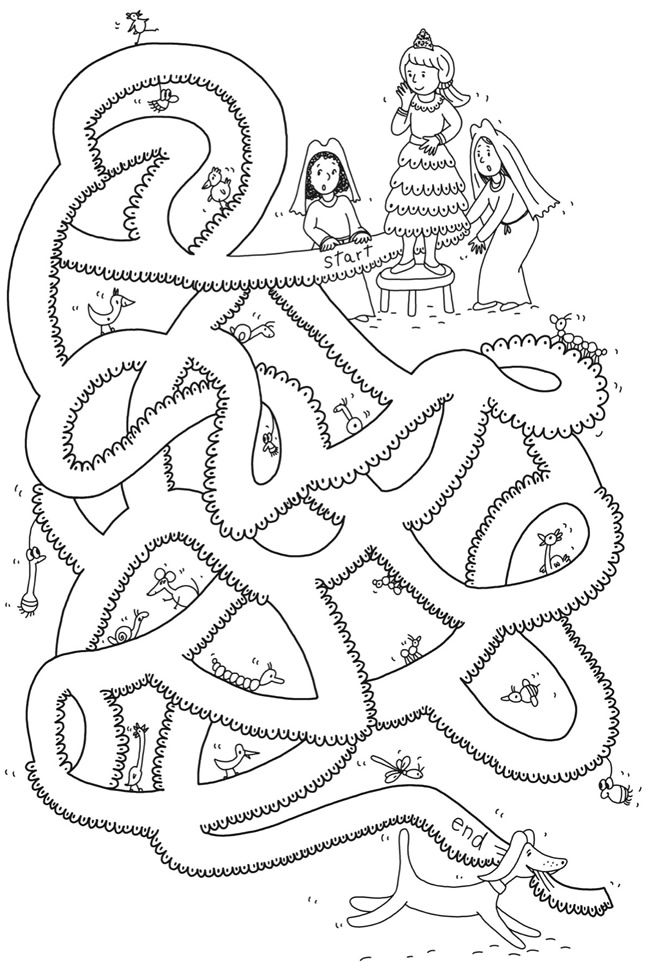 Third grade-Mazes: a collection of ideas to try about