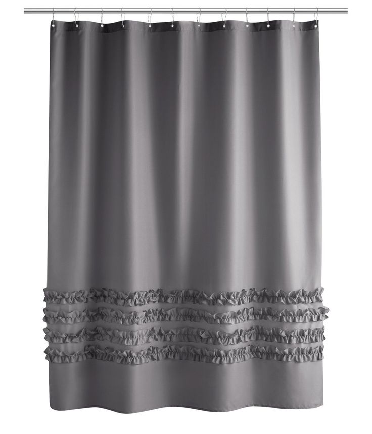 1000 ideas about Gray Shower Curtains on Pinterest