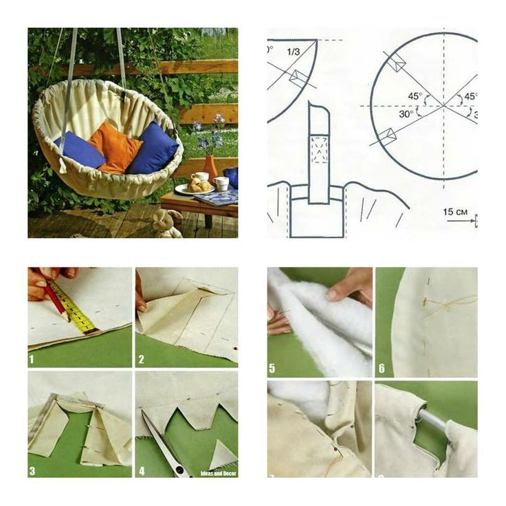 hammock chair swings childrens antique rocking chairs how to make step by diy tutorial instructions, to, make, ...