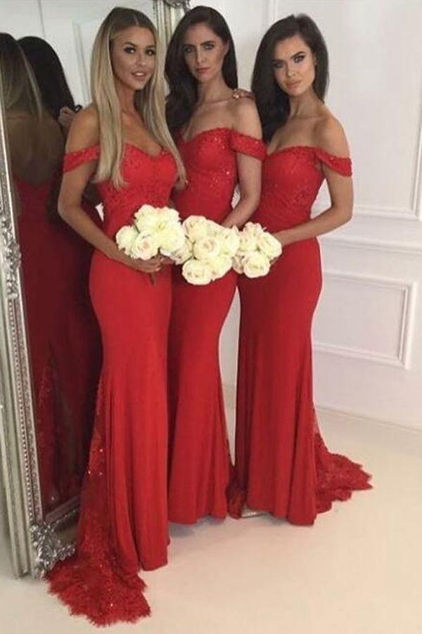 Best 20+ Red bridesmaid dresses ideas on Pinterest