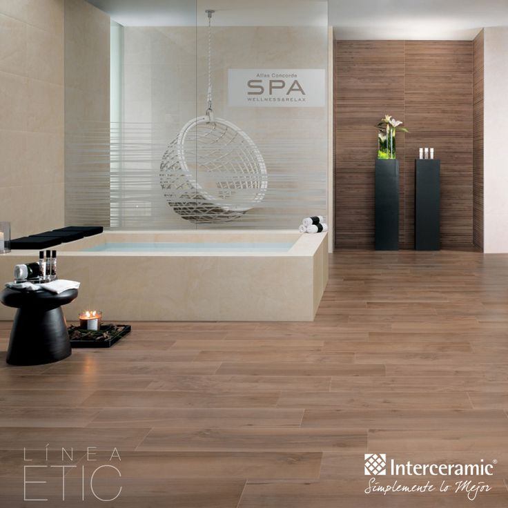 Logra calidez y bienestar en el spa combinando madera