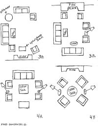 25+ best ideas about Apartment furniture layout on ...