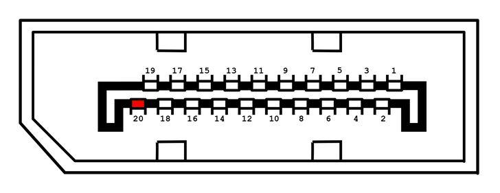 mini displayport schematic