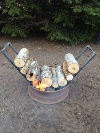 17 Best ideas about Camping Fire Pit on Pinterest | Log ...
