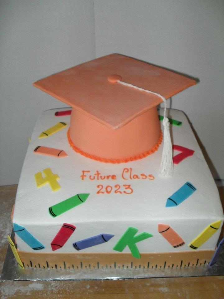 Elementary School Graduation Cake Ideas 86244 Cakes Deco G
