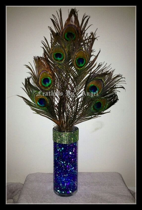 Feather Centerpieces For Weddings