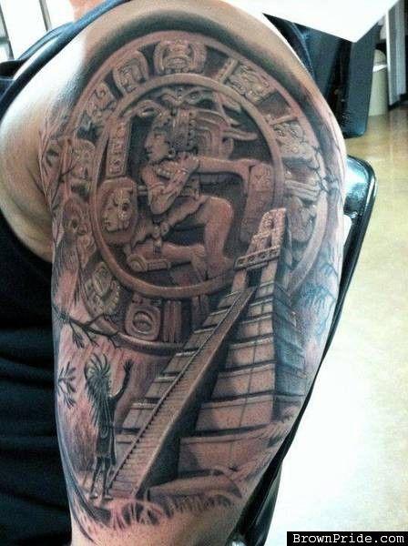 Inspirational The 25 Best Mayan Tattoos Ideas On Pinterest