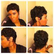great gatsby hair #waves #pincurls