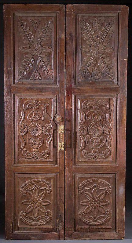 Carved Hacienda Doors Bedroom Pinterest Style Viva