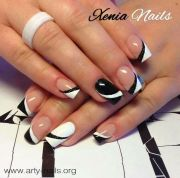 blanco negro and nails