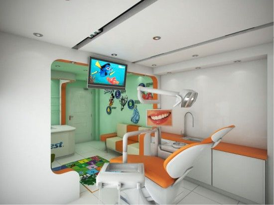 Dental Clinic Interior Design 4 Dental Studio Pinterest Of