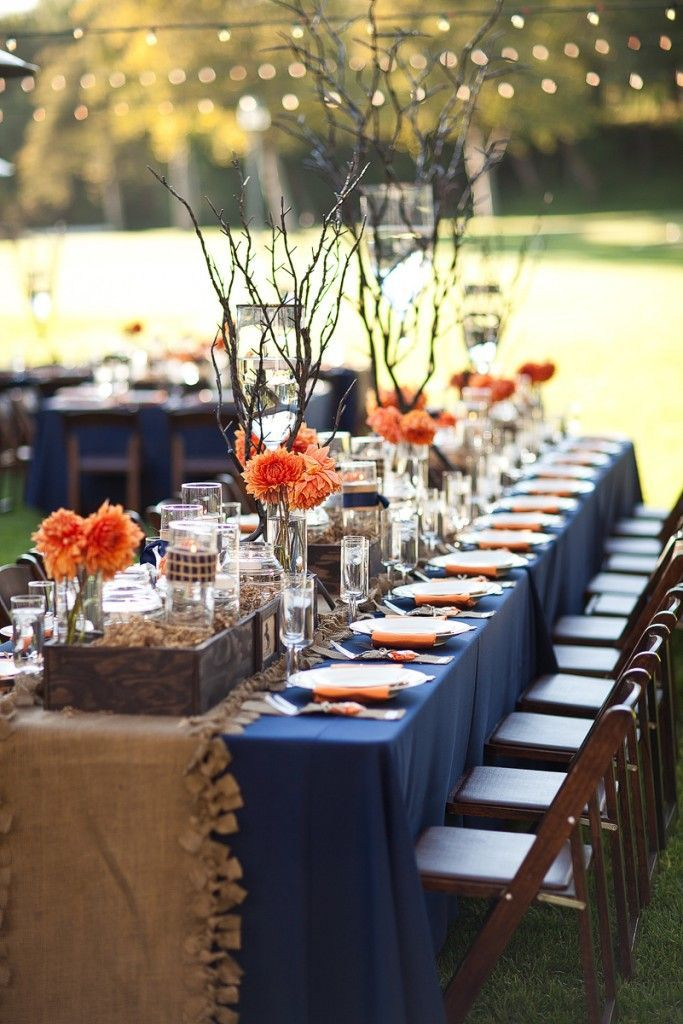 We are Totally Crushing on These Orange Wedding Ideas - Christopher Todd Studios: