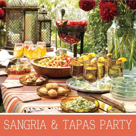 17 Best Images About Spanish Themed Dinner Party On