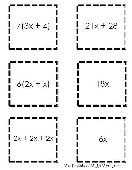 1518 best images about Middle School Math on Pinterest