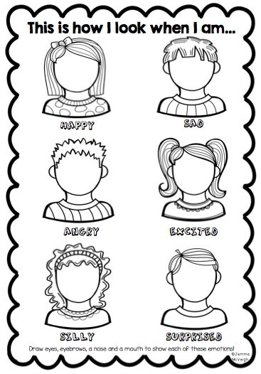 Exploring Emotions Worksheet from Miss Mac's Rockin