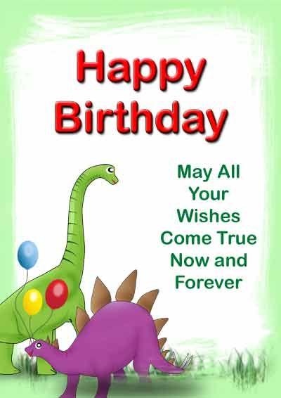 free printable birthday cards kids