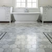 25+ best ideas about Hexagon tile bathroom on Pinterest ...