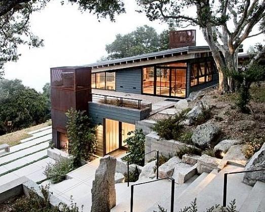 House Plans For Sloped Land DECORAÇÃO Pinterest House Plans
