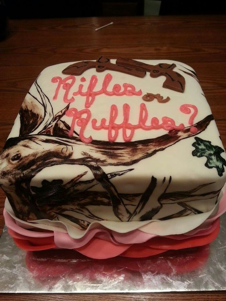 25 Best Ideas about Camo Gender Reveal on Pinterest  Country gender reveal Baby reveal party