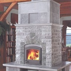 Cabin Kitchen Decor Sink Mat Alaska Masonry Heat - Offering Tulikivi Soapstone ...