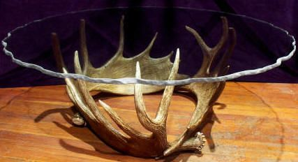 deer antler rocking chair hospital chairs handcrafted furniture and tables made from primarily moose antler, but also elk, ...