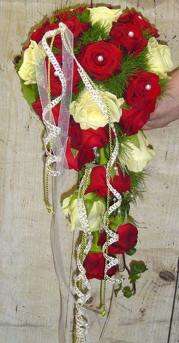 Brautstrau Mit Roten Rosen